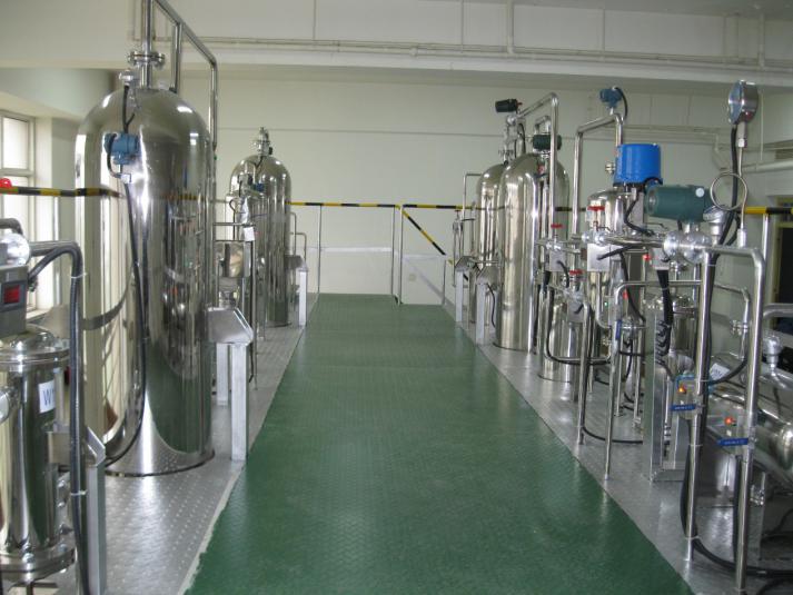 唐山师范煤制天然气半实物仿真工厂现场设备
