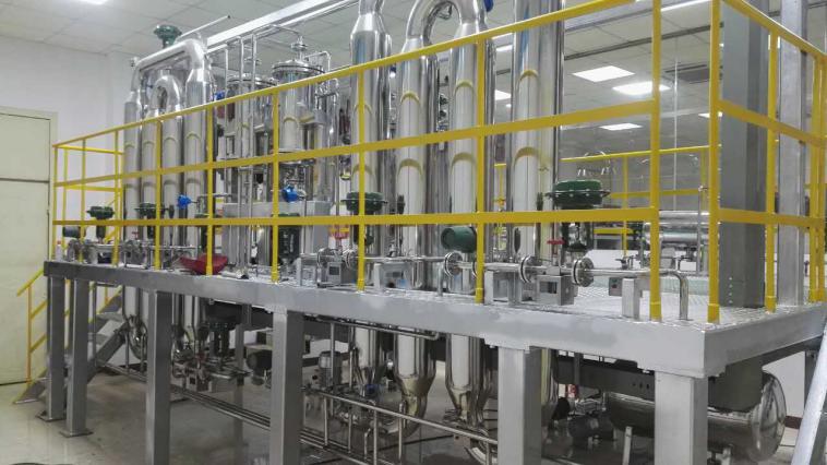 河池学院聚丙烯半实物仿真工厂现场装置