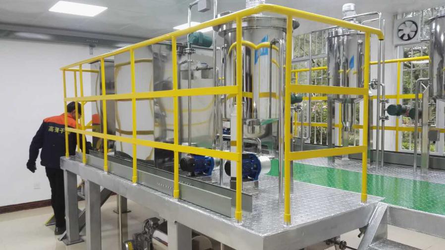 河池学院AAO 污水处理半实物仿真工厂仿真装置