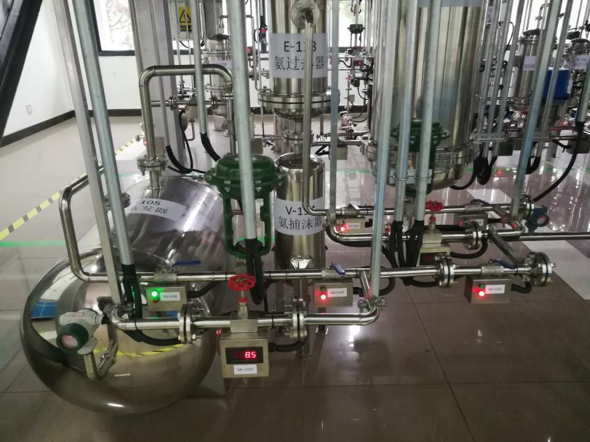 安徽大学丙烯腈半实物仿真工厂仿真控制仪表