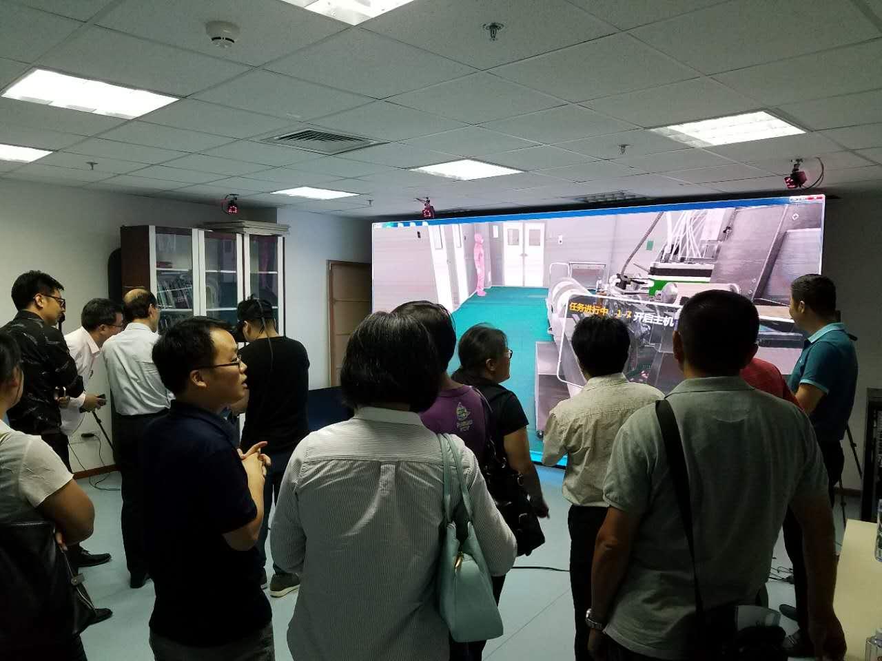 北京欧倍尔VR虚拟现实实训室