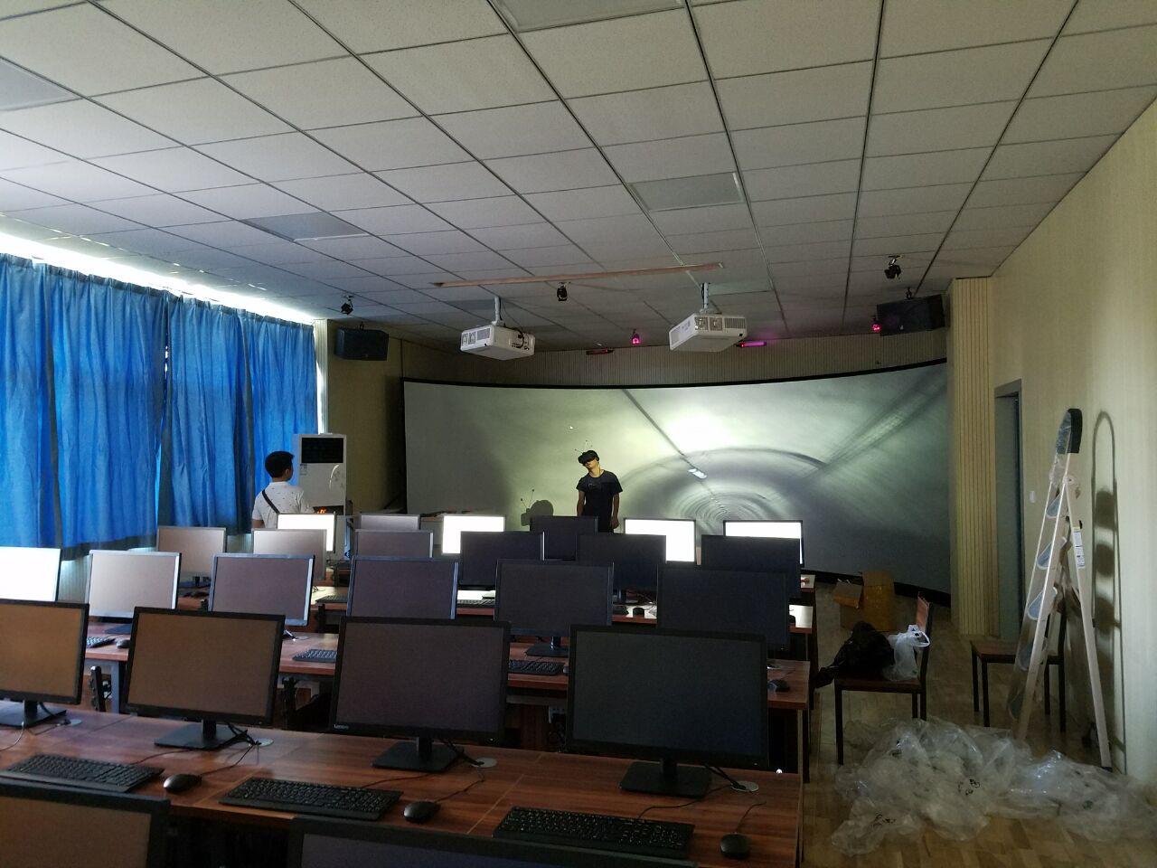 西安工程大学VR虚拟现实实训室(北京欧倍尔建设)