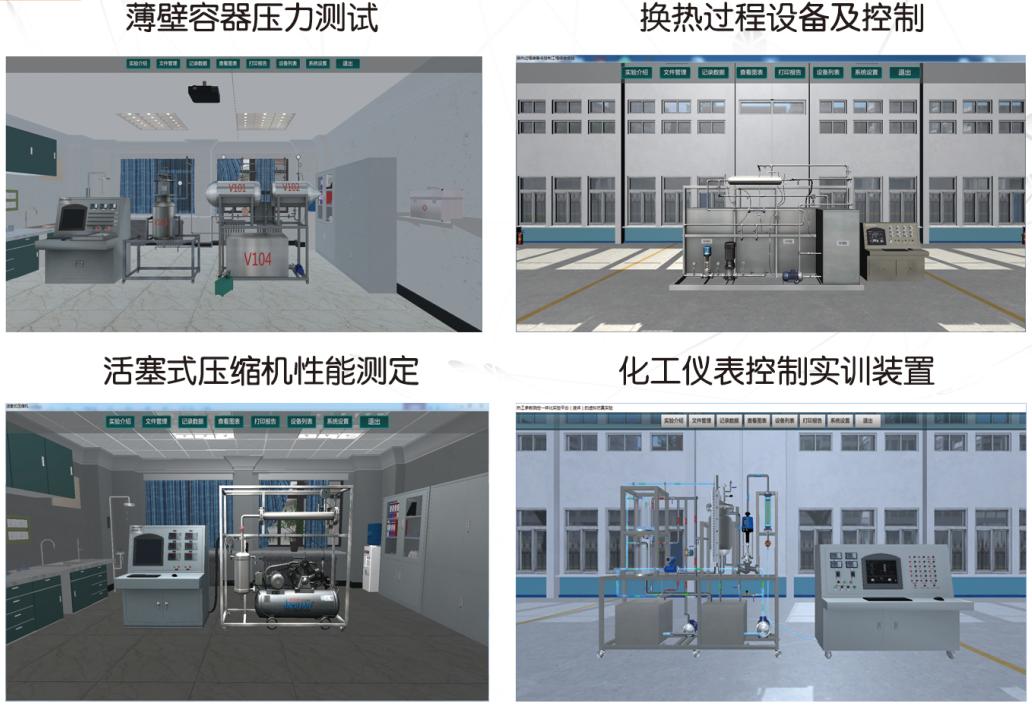 3D过程装备与控制实验装置虚拟仿真软件