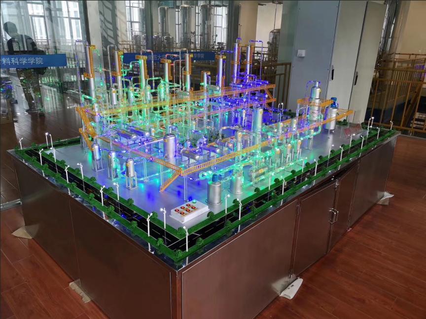 煤制甲醇全流程半实物仿真工厂沙盘模型