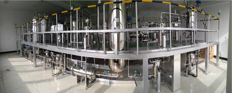 唐山师范煤制天然气半实物仿真工厂现场装置
