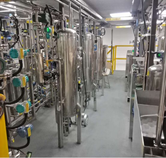 东北电力大学纯水制备半实物仿真工厂现场装置