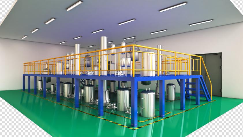 合成樟脑生产装置半实物仿真工厂