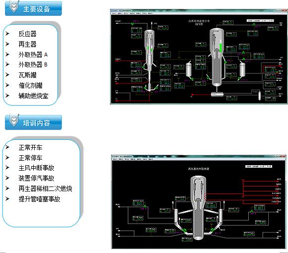 催化重整工艺虚拟仿真软件