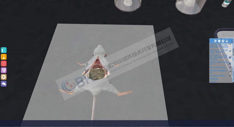 动物胚胎移植操作实验3D虚拟仿真软件
