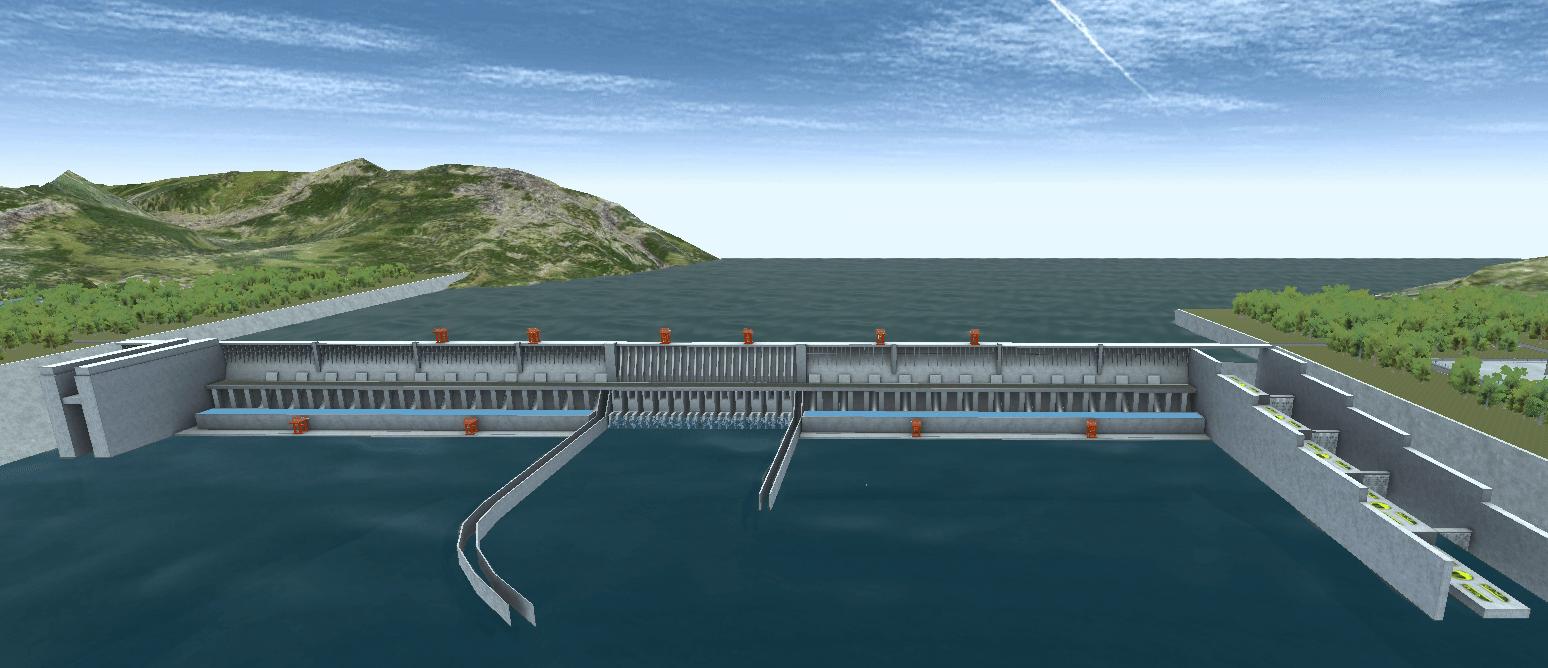 水力发电虚拟仿真软件